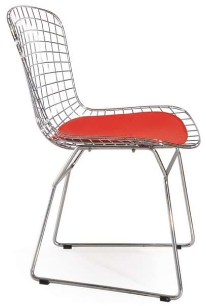 Bild von Harry Bertoia Stuhl, Wire Side Chair 420 (1952)