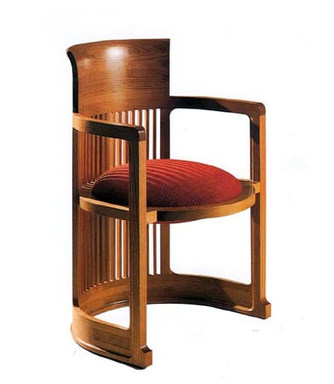 Bild von Frank Lloyd Wright Barrel Chair (1937)